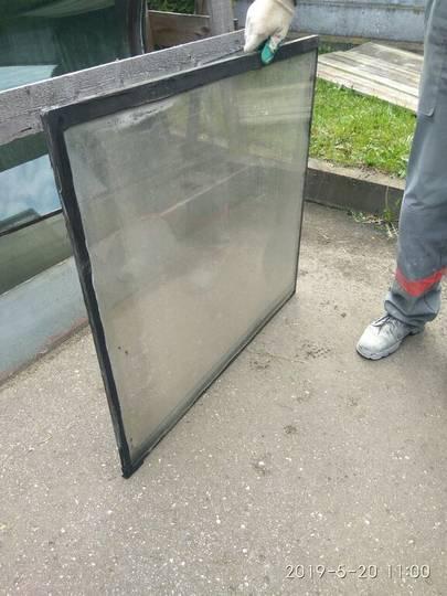 Windowpane for bus