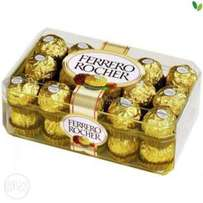 Ferro Rocher- 2 boxes of 30's and 2 boxes of 24's; discounted deal