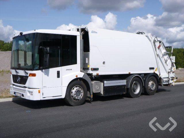 Mercedes-Benz 2628 Econic 6x2 Garbage truck (rear loader) - 13 - 2013
