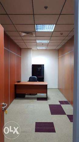 Furnished 2 Person Office Rent 5,000 QR Only !