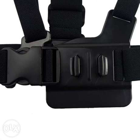 Chest Strap mount belt for Gopro hero And Action Cameras جونيه -  7