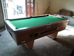Operational Coin Operated Pool Table for Sale