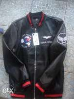 Air Force one leather jacket