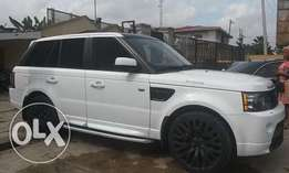 Range Rover Autobiography White Color
