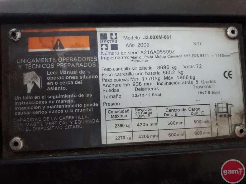 Hyster J300XM-861 - 2002 - image 9