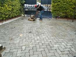 Cabro paving on driveways and parking