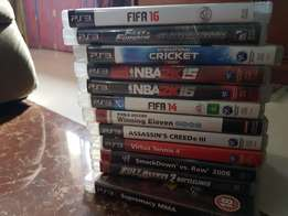 PS3 and PS4 games and classics