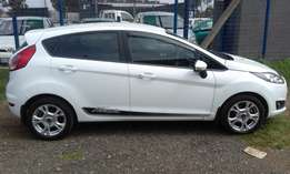 Ford Fiesta 1.0 Eco Boast Model 2015 Colour White 5 Door Factory A/C