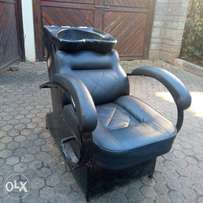 Washer Seat for Kinyozi or Saloon
