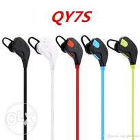 Bluetooth earphones qy7s amazing bass and quality