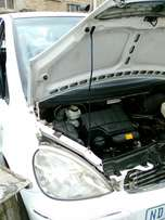 Mercedes A160 Auto breaking 4 parts
