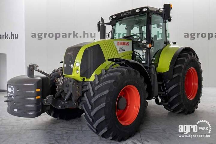 Claas Axion 850 Cebis (4340 Hours) Hexashift 24/24 - 2013