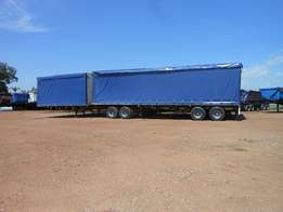 6 by12 SUPER LINK catain side trailer