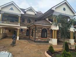vacant majestic mansion in one of Thikas exquisite leafy suburbs 80k