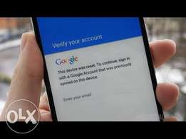 Google account removal password service