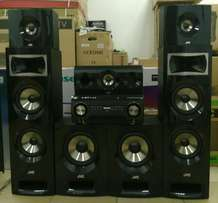 JVC 5.2 chanel Dvd Bluetooth home THEATRE system brand new with warran