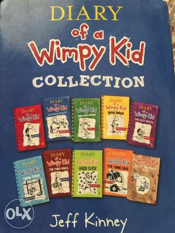 dairy of a wimpy kid each book 3 rial