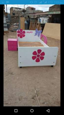 Kids bed colour of your choice Donholm - image 6