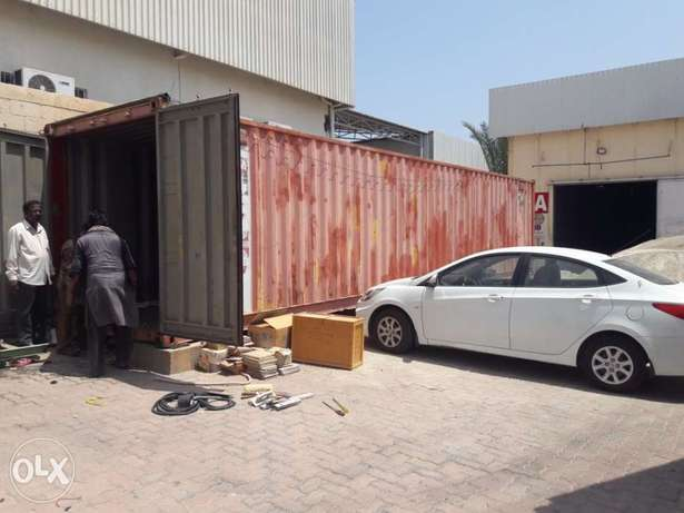 container 40 fir in very good condition