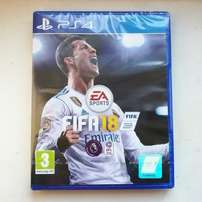 FIFA 18 PS4 Launch Edition New in packet