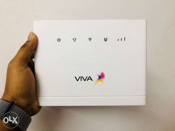 Viva 4G unlocked router 4G viva zain batelco sim support model B315