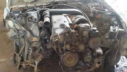 Mercedes w202 engine and other spares