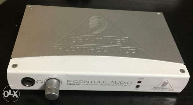 Behringer 2 Input 2 Output FireWire Audio Interface sound card