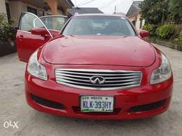 Super clean 2009 Infiniti G35x for sale in Port Harcourt.