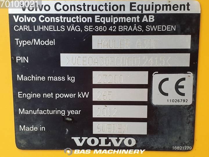 Volvo A30F Dutch machine - original paint - good tyres - 2012 - image 20