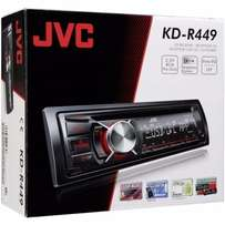 JVC car audio KDR-449 + FREE 4GB flash drive