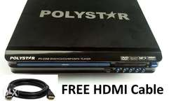 DVD Player with HDMI + USB Direct Recording + FREE HDMI Cable
