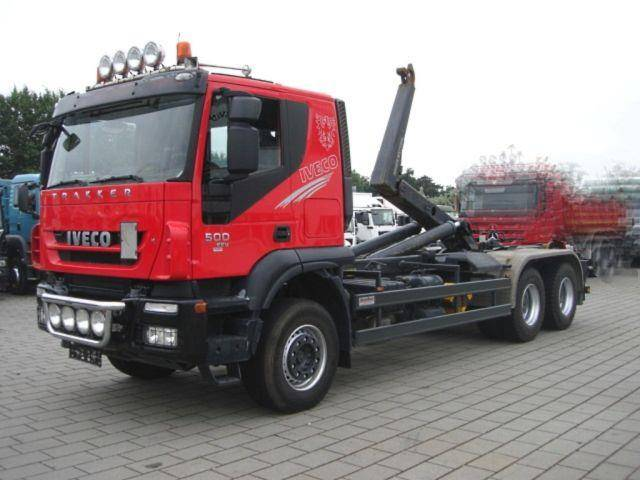 Iveco TRACKER AT260T50 6x4 Abrollkipper Meiller - 2013