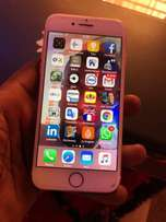 Slightly Used Iphone 7,Rose Gold For Sale