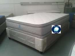 *Free Delivery* Pillow Top. Brand New Double & Queen Bed Set