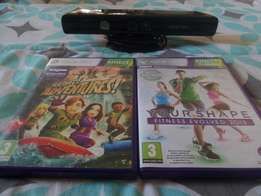 Kinect with 2 games R750