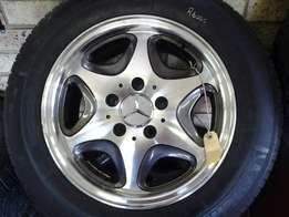 "15"" Mercedes mags n tyres in excellent condition"