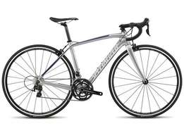 Specialized Amira Silver, Blue Carbon Women's Road Bike