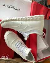Pure White Givenchy Low Top Sneakers