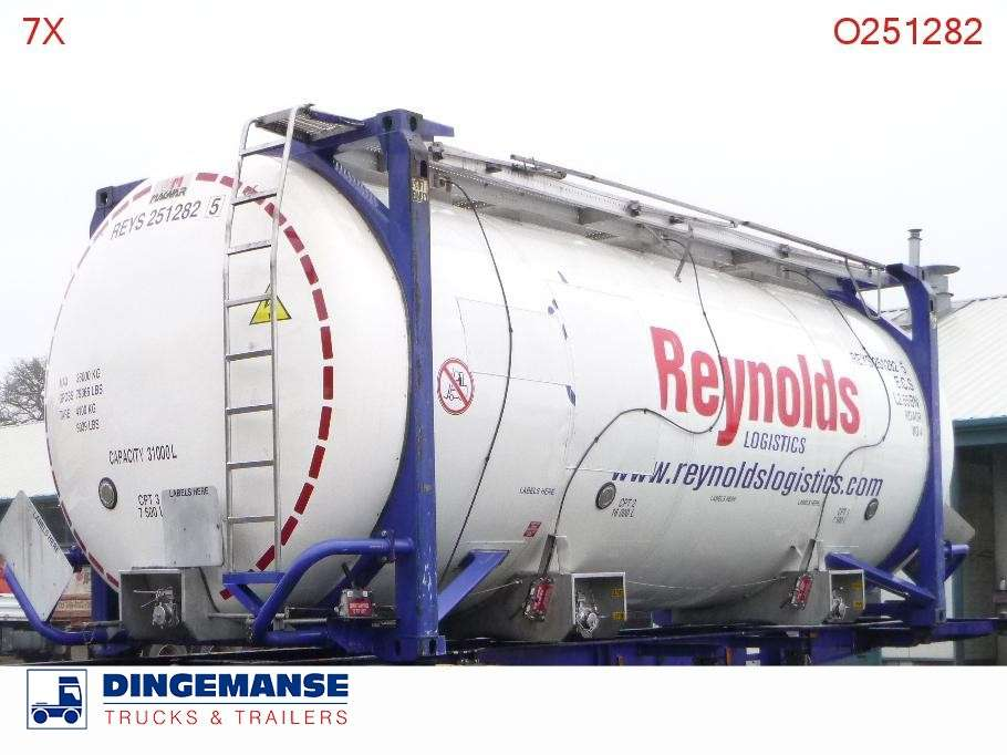 Magyar Tank container IMO 4 / 31 m3 / 20 ft / 3 comp - 2014