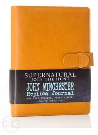 Super natural journal full leather