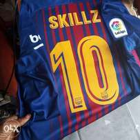 Jersey's with customized