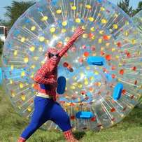 Zorb ball air ball mobile pool slide for hire