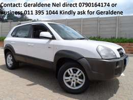 2006 Hyundai Tucson 2.7 V6 A/T 4X4 Good Condition Bargain Buy R74900