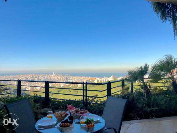 Stunning 1BR apt inside a resort 24/7 electricity Panoramic View
