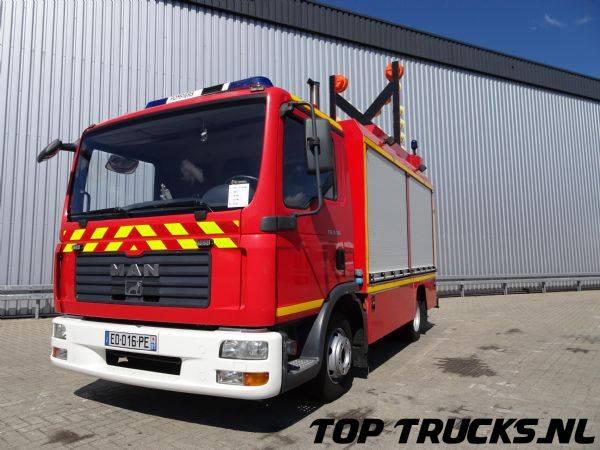 MAN 8.184 Calamiteiten truck, Electricity aggregate, Elektriz... - 2007
