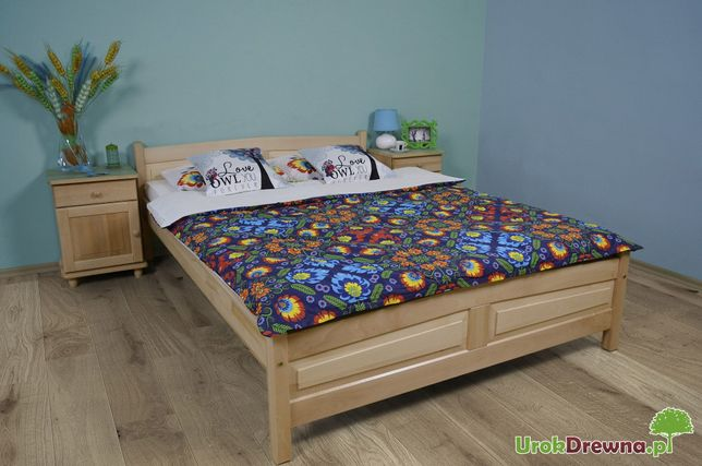 łóżko Do Sypialni Drewniane Bukowe 90 120 140 160 180x200