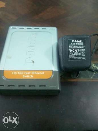 Dlink 10/100 fast ether net switch for sale