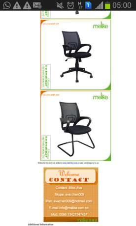 Orthopedic Mesh Chairs Westlands - image 2