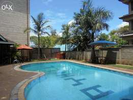 V.I.P. Serviced 3/4Bedrooms with great facilities in Nairobi.