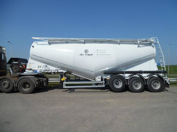 OKT Trailer PS211.31.34A 34 M3 Tri/A Cement Pneumatic Bul... - 2017